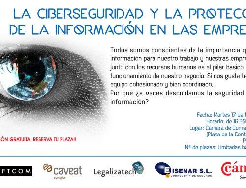 APTAN en la Jornada sobre ciberseguridad de la Cámara de Comercio de Sevilla