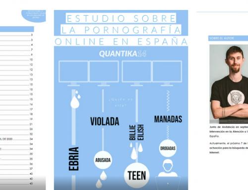 Estudio sobre la pornografía online en España creado por Jorge Coronado vocal de APTAN