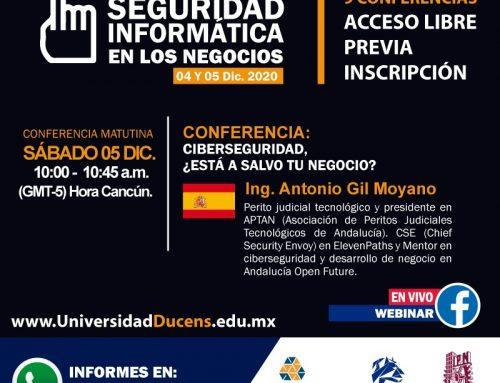 CONGRESO INTERNACIONAL DE SEGURIDAD INFORMÁTICA EN LOS NEGOCIOS
