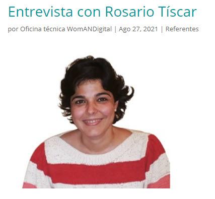 Entrevista con Rosario Tíscar